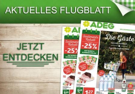 Das neue ADEG-Flugblatt